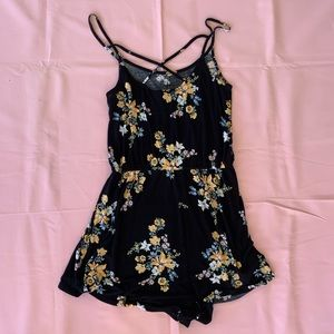 Divided romper size small